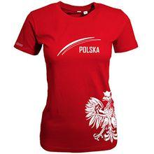 POLEN - POLSKA ADLER - WOMEN T-SHIRT Rot by Jayess Gr. XL