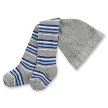 PLAYSHOES Strumpfhose blau / grau