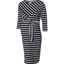 MLSELINA 3/4 JERSEY ABK DRESS A. - Umstandskleider - weiblich dunkelblau Damen Kinder