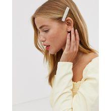 Ashiana - Haarspange mit Kunstperlen - Gold