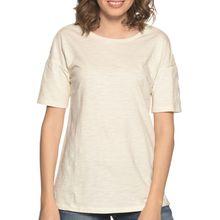 Benetton T-Shirt in weiss für Damen