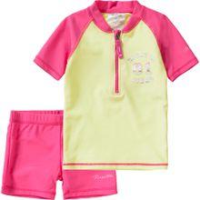 REGATTA Schwimmanzug 'Wader' gelb / pink