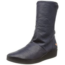 Softinos Damen Ann417Sof Stiefel, Blau (Navy 002), 41 EU