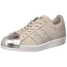 Adidas Superstar 80's Metal Toe Damen Sneaker Schwarz, CLGREY/CLGREY/METSIL, 38 EU