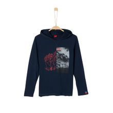 S.Oliver RED LABEL Shirt navy / grau / rot / schwarz