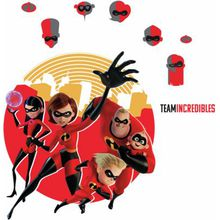 RoomMates Wandsticker Disney Incredibles2 mehrfarbig