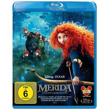 BLU-RAY Disney's - Merida - Legende der Highlands Hörbuch