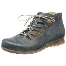 Think! Damen Menscha_282078 Desert Boots, Blau (Agave/Kombi 65), 43 EU