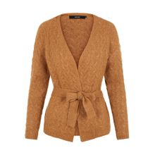 VERO MODA Strickjacke 'RAISIN' braun