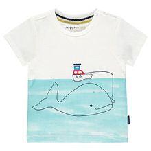 T-shirt Raton  weiß Jungen Baby