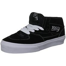 Vans U HALF CAB BLACK VDZ3BLK Unisex-Erwachsene Sneaker, Schwarz (Black), EU 37 (US 5.5)