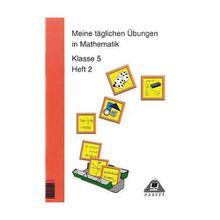 Buch - Meine täglichen Übungen in Mathematik: Klasse 5
