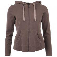 Deha - Women's Felpa Zip E Cappucci I - Yogashirt Gr S schwarz