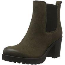 Vagabond Damen Grace Chelsea Boots, Grün (55 Dark Olive), 38 EU