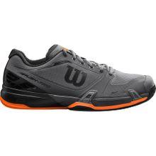 Wilson - Rush Pro 2.5 Herren Tennisschuh (grau/schwarz) - EU 44 2/3 - UK 10