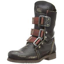 FLY London STIF, Damen Biker Boots, Schwarz (Black 000), 41 EU