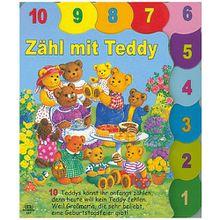 Buch - Zähl mit Teddy-Register