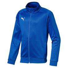 PUMA Trainingsjacke blau / weiß