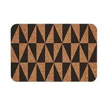 BUTLERS RETRO WAVE Tischset Kork - Tischset mit coolem Muster | Platzset in verschiedenen Farben & Mustern