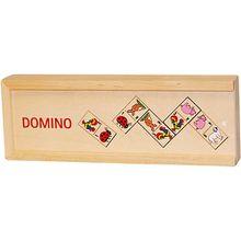 Domino Tiermotive im Holzkasten