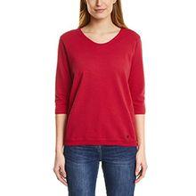 Cecil Damen Sweatshirt 311779 Malea, Rot (Salsa Red 11198), XX-Large