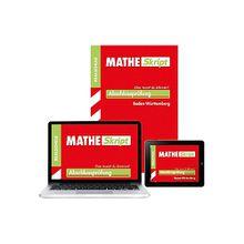 Buch - MATHE Skript, Abschlussprüfung Realschule Baden-Württemberg, m. ActiveBook DVD-ROM