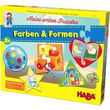 HABA Meine ersten Puzzles – Farben & Formen