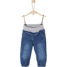 s.Oliver Jeans mit Umschlagsbund - Herzen