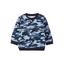 NAME IT Camoprint Sweatshirt blau