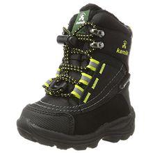 Kamik Unisex-Kinder Valdis Hohe Sneaker, Schwarz (Black-Noir), 33 EU
