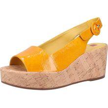 högl Sandalen Klassische Sandaletten gelb Damen