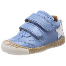 Bisgaard Unisex-Kinder Klettschuhe Sneaker, Blau (Sky Blue), 28 EU