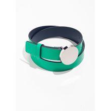 Circle Pendant Belt - Green