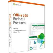 Microsoft Office 365 Business Premium (Officeprogramm, Download-Code)