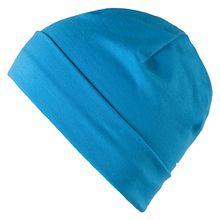 Kinder Jerseymütze blau