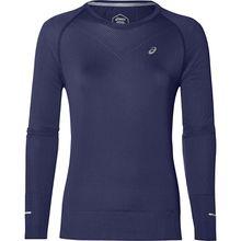 ASICS Performance Laufshirt Funktionsshirts blau Damen