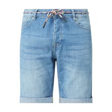 Jeansshorts aus Baumwolle Modell 'Slouchy'