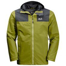Jack Wolfskin - Jasper Peak Jacket - Regenjacke Gr 3XL;L;M;S;XL;XXL oliv/grün;grau/braun/beige