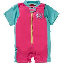 Baby Schwimmanzug Mädchen türkis/pink  Kleinkinder