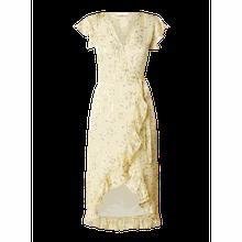 Wickelkleid aus Krepp Modell 'Rosy'