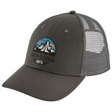 Patagonia - Fitz Roy Scope Lopro Trucker Hat - Cap Gr One Size schwarz/grau;rosa/grau