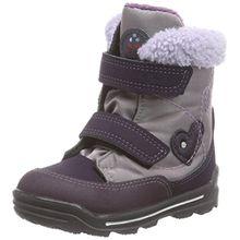Ricosta Finja, Mädchen Gefütterte Stiefel, Mehrfarbig (Purple/Susina 363), 23 EU (6 Kinder UK)