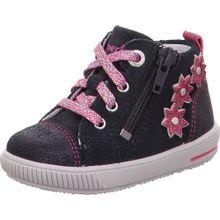SUPERFIT Sneaker 'Moppy' dunkelblau / rosa