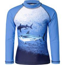 SANETTA Schwimmshirt blau