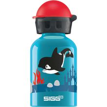 SIGG Alu-Trinkflasche Orca Family, 300 ml türkis