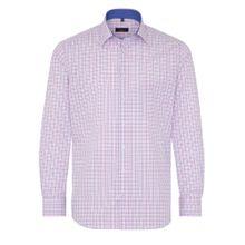 ETERNA Hemd blau / pink / weiß