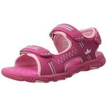 Lico Mädchen Crispy V Plateau, Pink (Pink/Rose), 27 EU