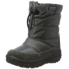 Naturino Baby Jungen Poznurr Klassische Stiefel, Grau (Anthrazit), 22 EU