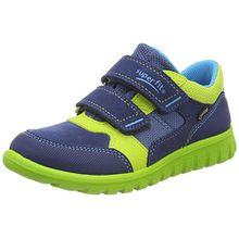 Superfit Baby Jungen SPORT7 Mini Sneaker, Blau (Water Kombi), 32 EU