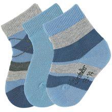 Sterntaler 3er Pack Socken - Streifen